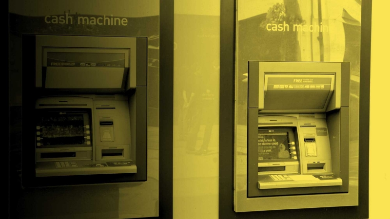 Cash machine yellow 308 176
