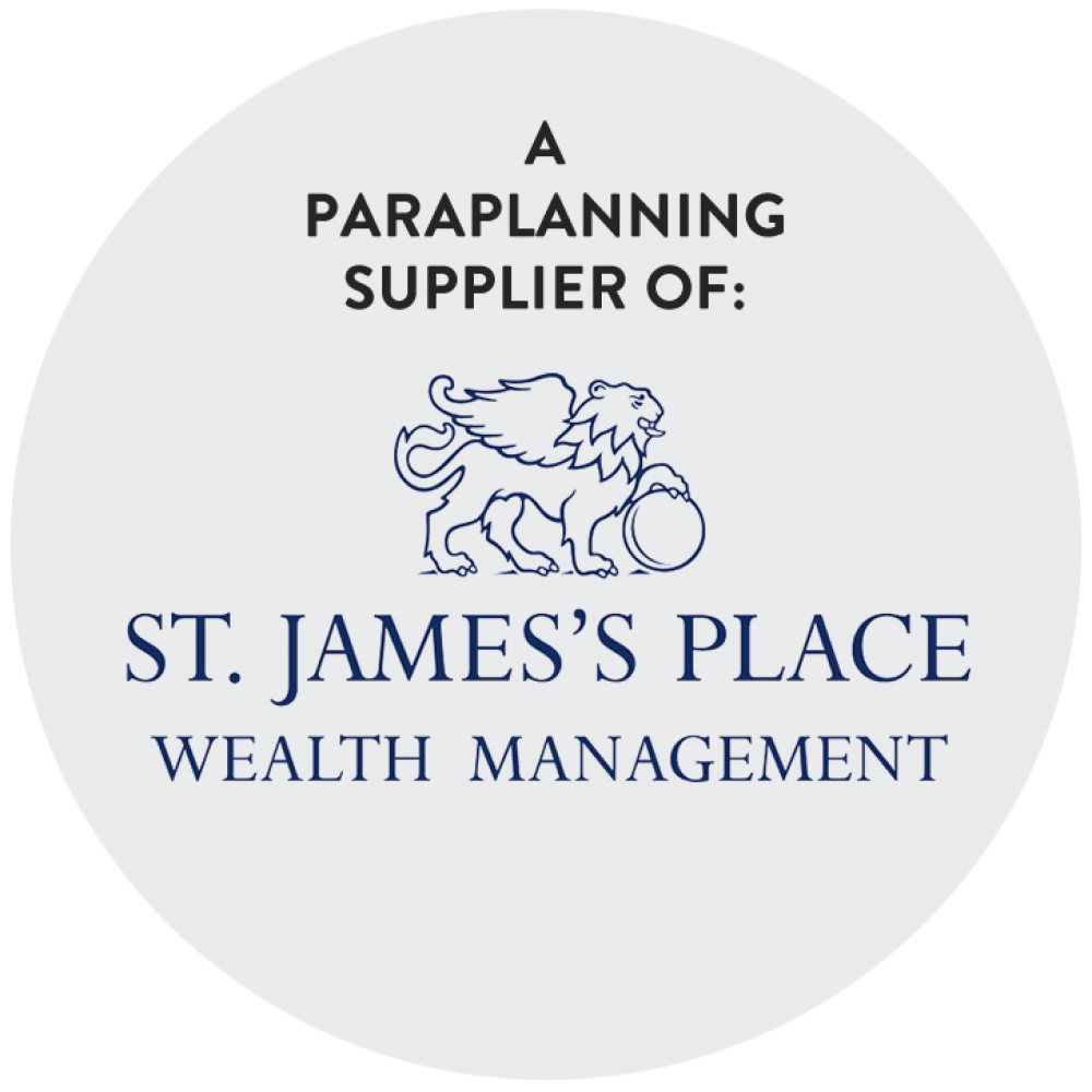 St james place paraplanning supplier spot